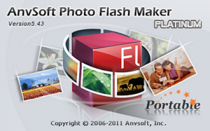AnvSoft Photo Flash Maker Platinum 5.43 Portable (2012) Русский + Английский