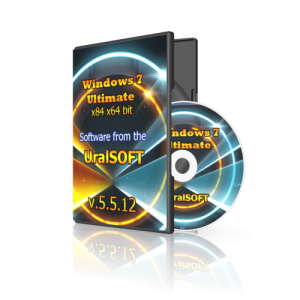 Windows 7 (x86/x64) Ultimate UralSOFT v.5.5.12 (2012) Русский