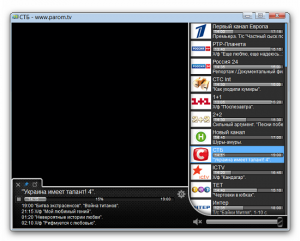 Player Parom.TV v1.0 Beta + Portable (2012) Русский