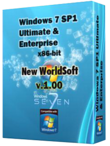 Windows 7 x86 Ultimate & Enerprise v.1.00 (2012) Русский