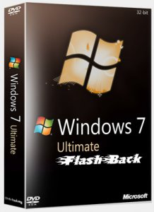Windows 7 SP1 Ultimate FlashBack Edition Release 12.5.5 [x86] (2012) Русский