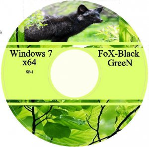 "Windows 7 SP1 x64 Ultimate FoX-Black ""GreeN"" (2012-05-19) Русский"