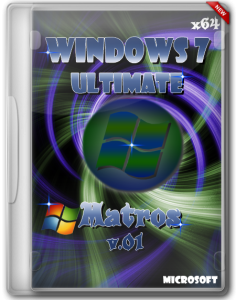 Windows 7 Ultimate х64 Matros v.01 (2012) Русский