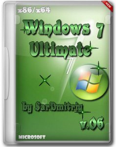 Microsoft Windows 7 Ultimate SP1 x64-x86(32) by SarDmitriy v.06 (2012) Русский