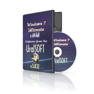 Windows 7 x64 Ultimate UralSOFT v.5.8.12 (2012) Русский
