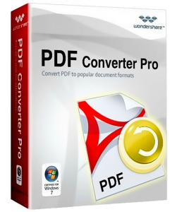 Wondershare PDF Converter Pro v3.2.0.3 Portable / Portable with OCR (2012) Русский