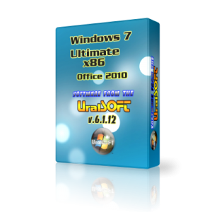 Windows 7 x86 Ultimate UralSOFT v.6.1.12 (2012) Русский