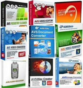 AVS Multimedia Software Collection AIO - Тихая установка [20.05.2012] (2012) РС