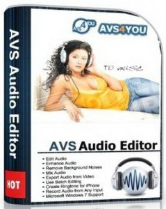AVS Audio Editor 7.1.3.462 (2012) PC | + Portable