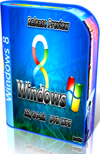 Windows 8 Release Preview (32/64-bit) DVD(WPI 36 прилжений) 02.06.2012 (2012) Русский