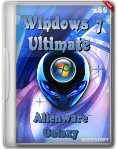 Windows 7 Ultimate Alienware Galaxy x86 (2012) Русский