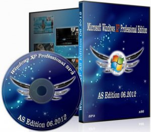 Windows XP Professional SP3 AS Edition 06.2012 (2012) Русский