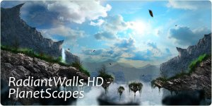 RadiantWalls HD - PlanetScapes v.1.9full [Android] (2012) Русский + Английский