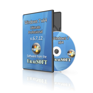 Windows 7 x64 UralSOFT 2 in 1 v.6.7.12 (2012) Русский