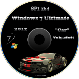Windows 7 Ultimate SP1 x64 VolgaSoft (Car) (2012) Русский