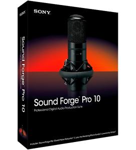 Sony - Sound Forge Pro v10.0d Build 503 Final+ Sony Noise Reduction + Dolby Digital AC-3 Pro Portable (2012)