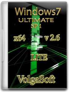 Windows 7 Ultimate SP1 x64 VolgaSoft Lite v 2.6 (2012) Русский