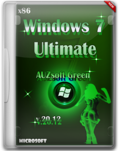 Windows 7 Ultimate AUZsoft Green(x86) v.20.12 (2012) Русский