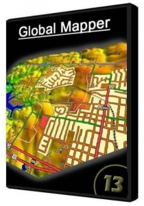 Global Mapper 13.0 Build 032812 (2012) Русский