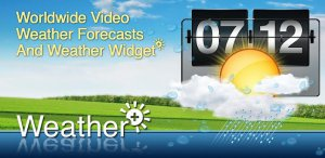 Weather+ v 1.2.1 [Android] (2012) Русский