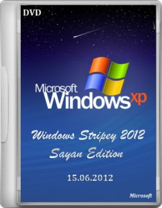 Windows XP Stripey 2012 Sayan Edition 2012 (15.06.2012) Русский