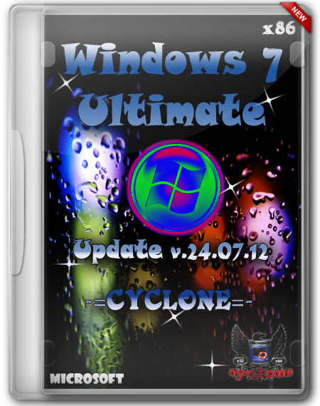 Windows 7 Ultimate SP1 Update v.24.07.12 -=CYCLONE=