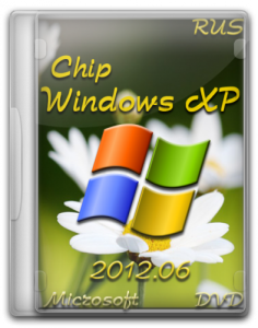 Chip Windows XP (x86) 2012.06 DVD (Русская версия)