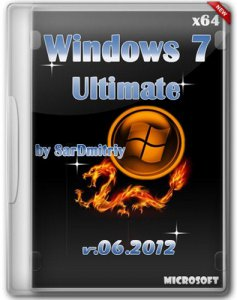 Microsoft Windows 7 Ultimate x64 SP1 By SarDmitriy v.Июль (2012) Русский