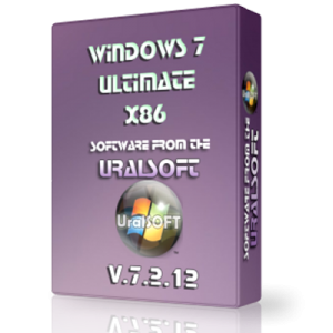 Windows 7x86 Ultimate UralSOFT v.7.2.12