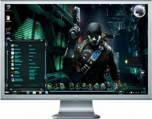 Themes Windows7 Prey 2 2012 (Rus/Eng)