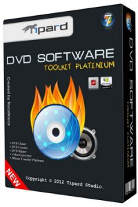 Tipard DVD Software Toolkit Platinum 6.1.50 + Portable (2012) Английский