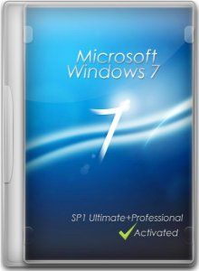 Windows 7 SP1 4 in 1 Русская (x86+x64) (11.07.2012) (2012) Русский
