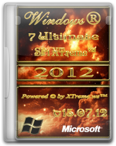 Microsoft Windows® 7 Ultimate SP1 XTreme.ws™ v15.07.12 (Июль 2012 г.) x86