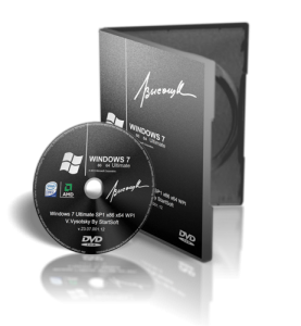 Windows 7 Ultimate SP1 x86 x64 V.Vysotsky By StartSoft v.23.07.001.12 (2012) Русский