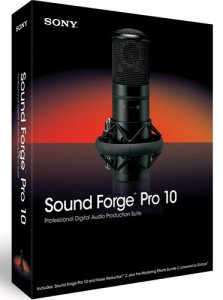 Sony Sound Forge Pro 10.0d Build 503 (2012) РС | RePack v2 by MKN