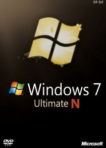 Microsoft Windows 7 Ultimate N SP1 with IE9 (en-US, ru-RU) x64 2012.07 (2012) Русский + Английский