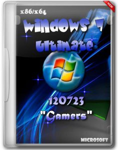 Windows 7 Ultimate SP1 Rus 120723 Gamers by lopatkin (x86/x64) (2012) Русский