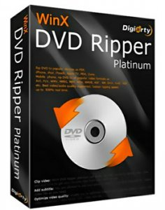WinX DVD Ripper Platinum 6.9.0 20120724 + Portable (2012) Английский