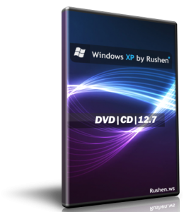 Windows XP by Rushen 12.7 DVD (2012) Русский