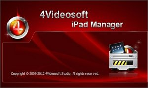4Videosoft iPad Manager 5.0.16 (2012) Английский
