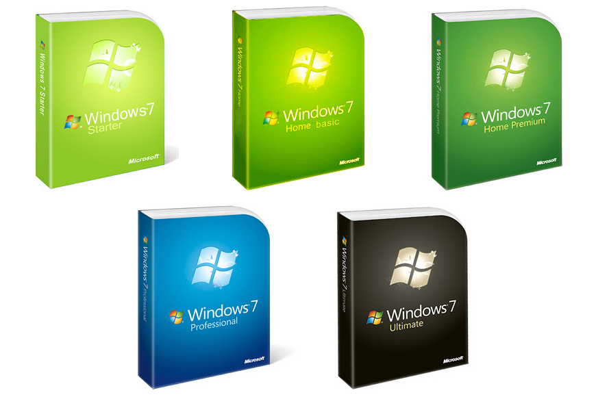 Windows 7 Service Pack 1 (9 in 1) 7601 x86/x64
