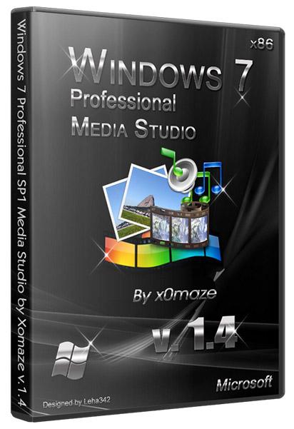 Windows 7 SP1 (х86) Media Studio 1.4 (20120 Русский