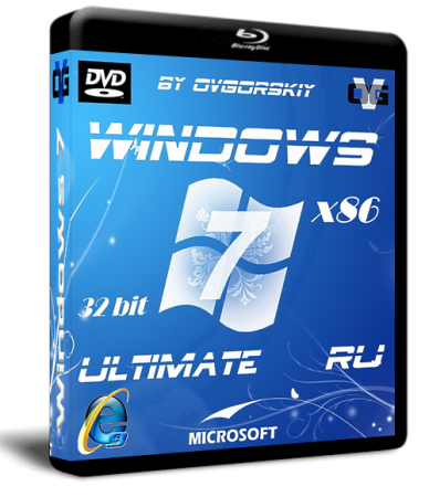 Windows 7 Ultimate Ru x86 SP1 NL2 by OVGorskiy® 08.2012