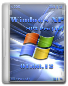 Windows XP SP3 Pro (TE) 01.08.12 (5.1.2600) (x86) (2012) Русский