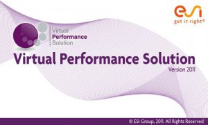 ESI Virtual Performance Solution 2011 for Windows (2011) Английский + Французкий