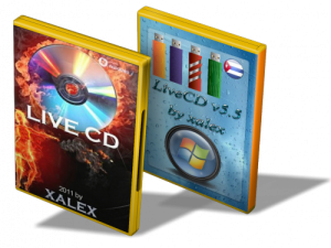 LiveCD Windows'7 5.5c (cuba) � 5.5m (mini) by xalex (12.01.2011) �������