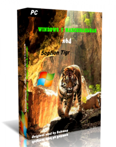 Windows 7 Максимальная 5option (х64) Tigr v0.8.6 (2012) Русский