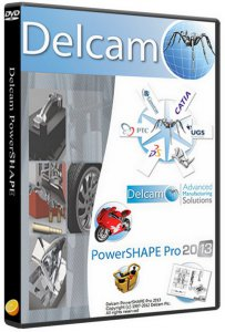 Delcam PowerSHAPE 2013 SP0 + PS-Catalogues 2013 SP0 + ���������� SP1 (2012) ������� ������������