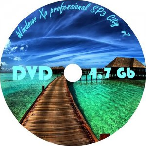 Windows Xp professional SP3 City v.7 x86 (2012) Русский