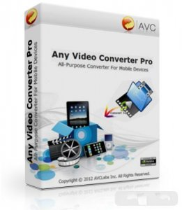 Any Video Converter Pro 3.5.0 Final / Repack-Portable / Portable (2012) Русский присутствует